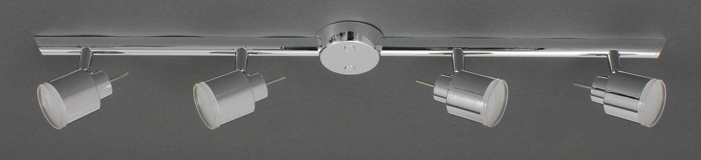 Prisma 2706-048 LED Deckenleuchte 4-flammig Chrom , 4x 4W Warm-Weiß , Deckenstrahler