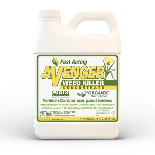 Avenger Organic Weed Killer 32-Ounce Concentrate: