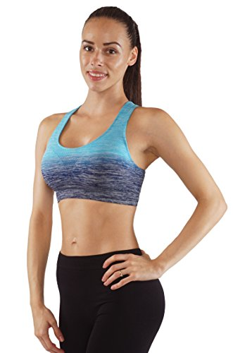 Vesi Star Ombre Style Women's Flexible Tops (Small,