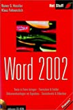 img - for Word 2002. book / textbook / text book