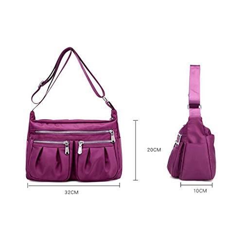 à Bandoulière BAILIANG Sauvage Sac Simple Women Imperméable à Casual Main Purple élégant Dames Sac xgWSg