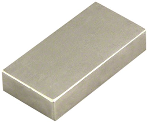 32.2kg Pull Pack of 1 Magnet Expert  50 x 25 x 10mm thick N42 Neodymium Magnet