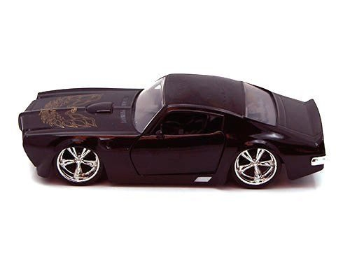 New 1:32 DISPLAY BIGTIME MUSCLE - BLACK 1972 PONTIAC FIREBIRD Diecast Model Car By Jada Toys