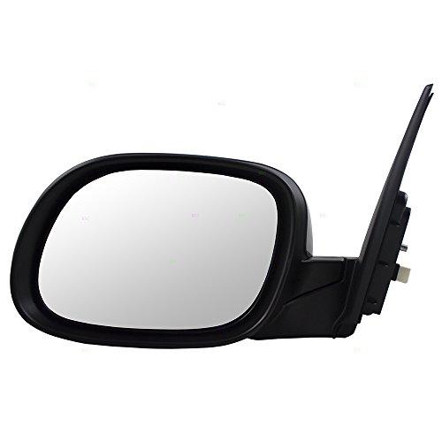 (Drivers Power Side View Mirror w/Cover Replacement for Kia Soul 87610 B2500 KI1320194)