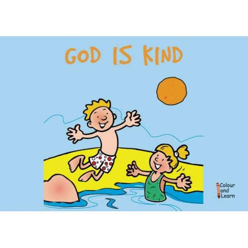 God Is Kind (coloring Book) (Learn About God Colouring Books) Carine Mackenzie