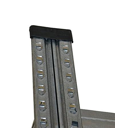 Steckregal kunststoff grün  Steckregal Super1 Grundregal 3028x1570x320 mm 7 Böden ...