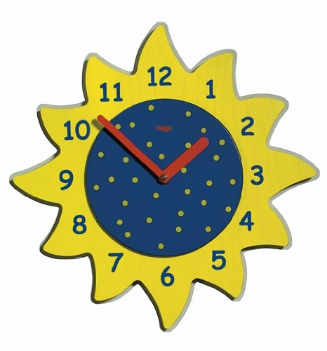 Early Sunshine Clock by HABA