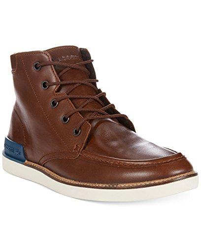 Men's Lacoste Zinder 2 Leather Boots (11, Dark Brown)