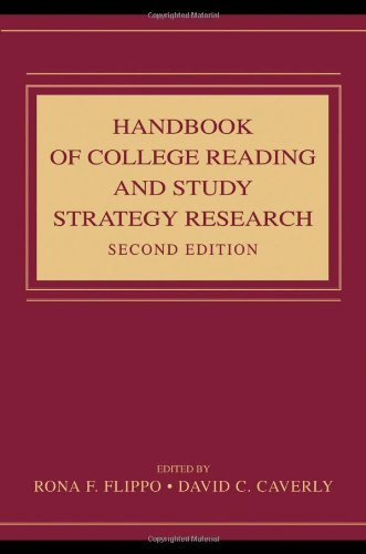 By Rona F. Flippo - Handbook of College Reading and Study Strategy Research: 2nd (second) Edition