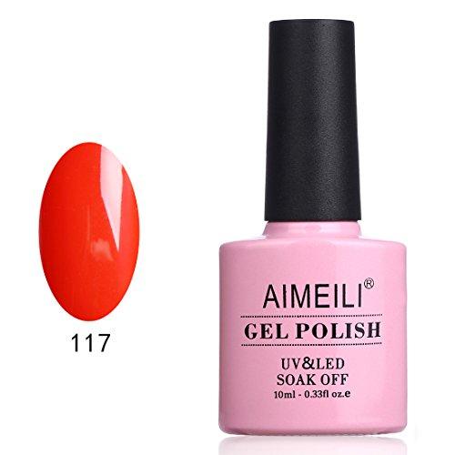 AIMEILI Soak Off UV LED Gel Nail Polish - Lilium Pumilum  10