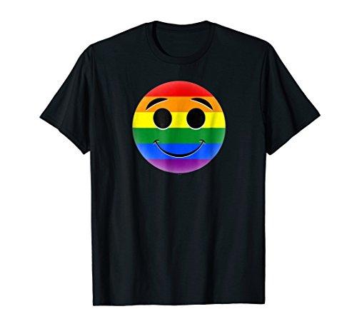 ity emojicon rainbow shirt ()