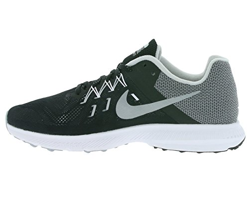 Nike 807277-002, Zapatillas de Trail Running para Hombre Negro (Black / Reflect Silver-White)