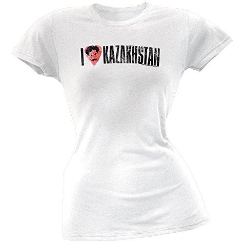 Funny Borat T-shirt (Borat - I Love Kazakhstan Ladies T-Shirt - Medium)