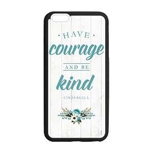 the Case Shop- Cinderella iPhone 6 Plus 5.5 Inch TPU Rubber Hard Back Case Cover Skin , i6pxq-230