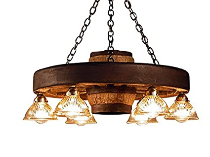 small wagon wheel chandelier down lights lighting fixtures o