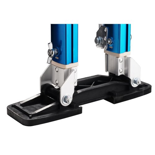 Pentagon tool professional 18 30 blue drywall stilts for Drywall delivery cost