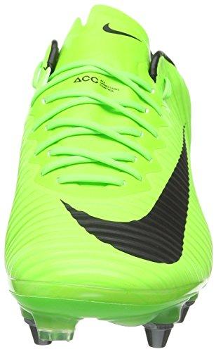 Nike Mercurial Vapor Xi Sg-Pro, Zapatillas de Fútbol para Hombre Verde (Electric Green/black Flash Lime-white)