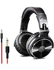 OneOdio Over Ear Headphones Closed Back Studio DJ Headphones for Monitoring, Adapter Free, Noise Isolating (Golden Gray)