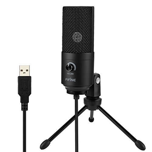USB Microphone,Fifine Metal Condenser Recording Microphone For Laptop MAC Or Windows Cardioid Studio Recording Vocals, Voice Overs,Streaming Broadcast And YouTube Videos.(669B) - Image 2