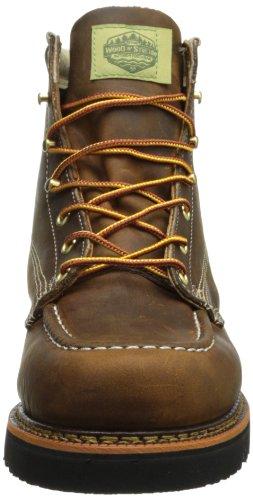 Wood N Stream Mens 7011 American Boot Boot Brown Crazyhorse