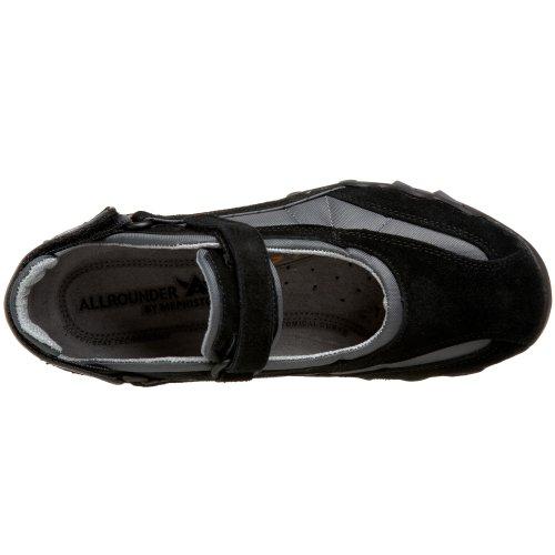 Allrounder Di Mephisto Womens Niro Mary Jane Sneakers Nero