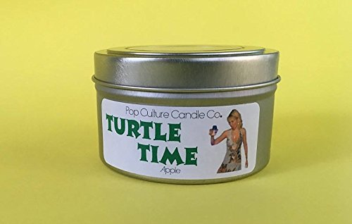 The Real Housewives of New York - Bravo - TURTLE TIME 4 oz Candle - Inspired by Ramona - Usps Times Mail Shipping Priority