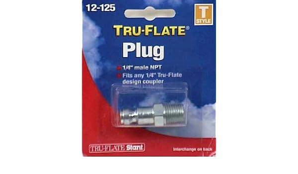 Tru-Flate 12-603 1//4 Male NPT Plug