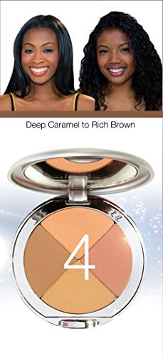 Perfect Pigment Cosmetics - Christina Cosmetics Perfect Pigment 4 Compact: One Minute Miracle Makeup