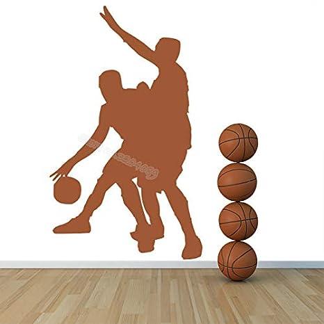 Jugadores de Baloncesto Deportes Etiqueta de La Pared Juego ...