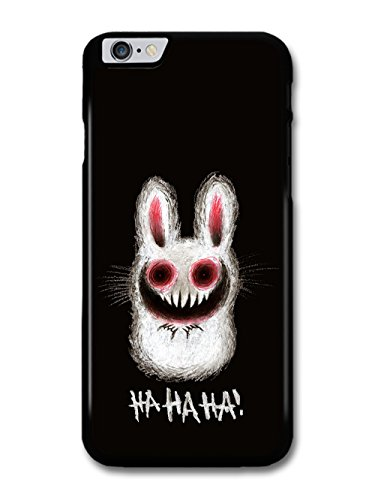 Rabbit Funny Evil Funny Halloween Illustration HAHAHA! coque pour iPhone 6 Plus 6S Plus