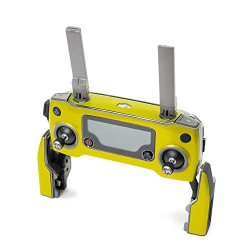 Wrapgrade Poly Skin for DJI Mavic 2 | Remote Controller (LIMONCINO Yellow)