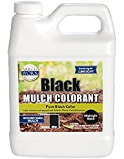 2,800 Sq. Ft. - Pure Midnight Black Mulch Dye Spray Concentrate