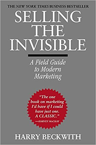 Book Title - Selling the Invisible: A Field Guide to Modern Marketing