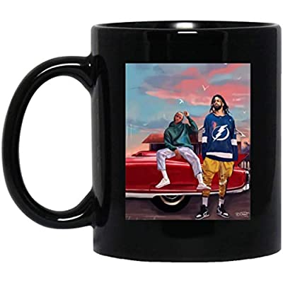 J Cole and Kendrick Lamar shirt 11 oz. Black Mug