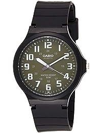 Relógio Masculino Casio Analógico MW2403BVDF - Preto