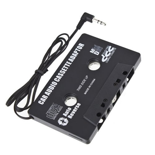 COCO 휴대 악세사리 카 오디오 카셋트 어댑터 자기 변환 MP3 플레이어 블랙