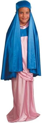 Disfraz de Virgen Maria para niña - 7 - 9 años: Amazon.es: Juguetes ...