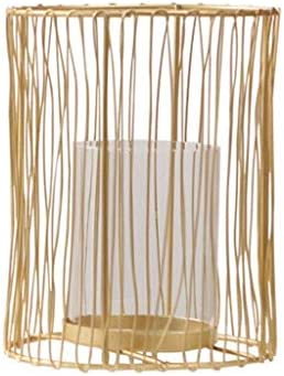 AJJZX ローソク足-中空彫りクリスタルティーライトキャンドルデイウエディングホームデコレーションリビングルームの装飾 (Size : 16cm)