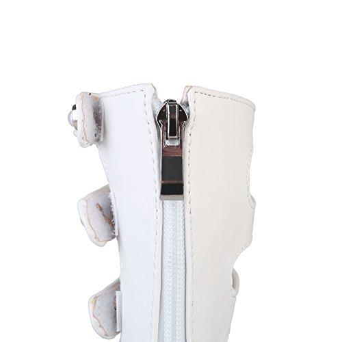 Eu Balamasa Femme 5 Blanc 36 Ouvert Asl05089 Bout Blanc qAgqp81