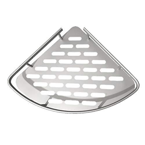 Yardwe Bathroom Corner Shelf Triangular Shower Sray Holder Storage Basket Bath Accessories