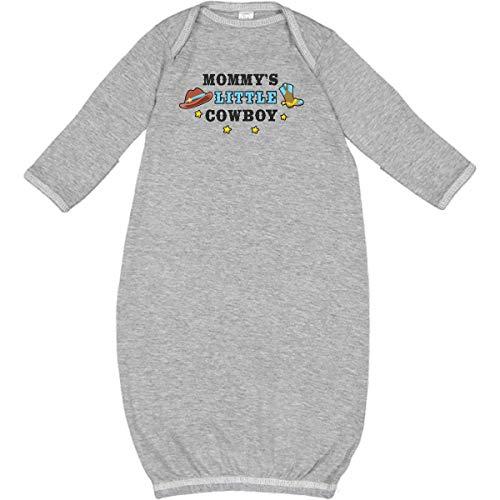 inktastic - Mommys Little Cowboy with Cowboy Hat Newborn Layette Heather 2cb60
