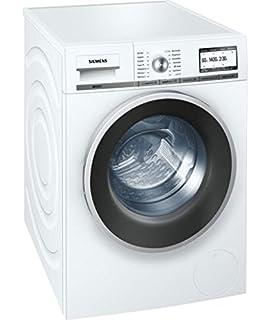 Siemens WM14Y74A IQ800 Waschmaschine Frontlader A B 1400 UpM 8 Kg Weiss