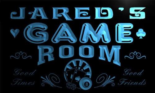 PL226-b Jared's Game Room Man Cave Beer Bar Neon Light Sign ADV PRO