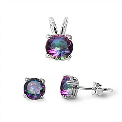 oval imperial topaz stud earrings - 5