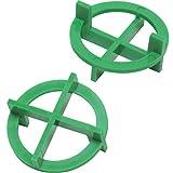 1/16'' Tavy 4-Corner View Tile Spacers Box 500 pcs (green)