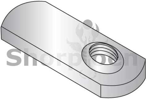 SHORPIOEN Weld Nuts with .812 Tab Base Offset Hole 18-8 Stainless 14-28 BC-15NWS1SS Box of 1000