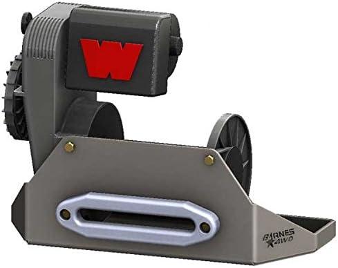 Barnes 4WD WARN 8274 Dual Pull Winch Plate