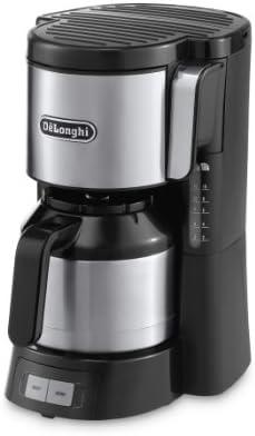 DeLonghi ICM 15740 - Cafetera de filtro, 1000 W, 1.25 L, plástico ...