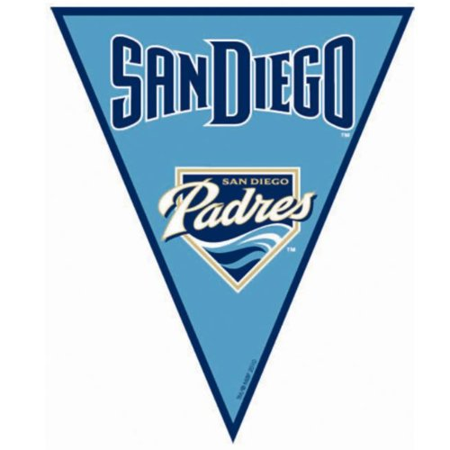 San Diego Padres Baseball Pennant Banner
