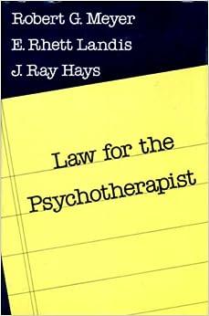 Torrent Descargar Español Law For The Psychotherapist Epub Gratis